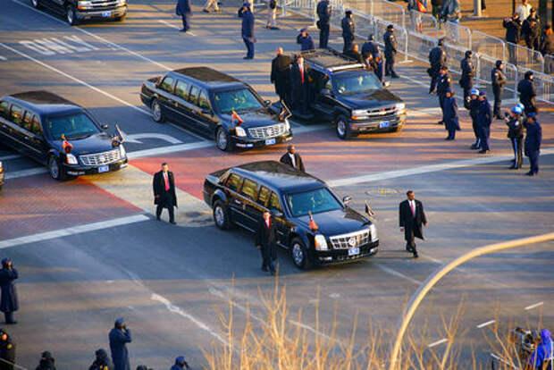 «Зверь» для Трампа и другие автомобили первых лиц