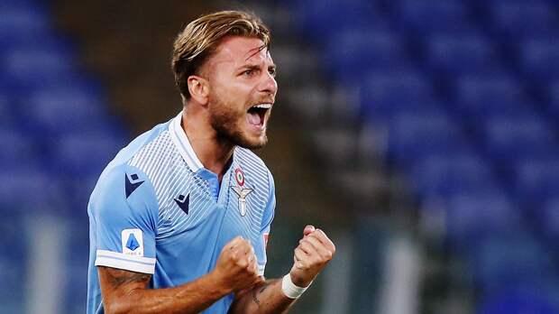 Иммобиле — 1-й игрок в истории «Лацио» с 4 сезонами с 20+ голами в Серии А