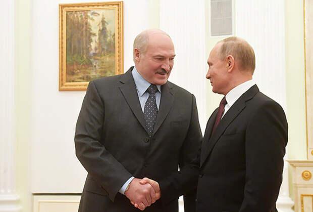 Президент России рассказал освоем доверии кЛукашенко