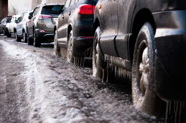 Водителей Удмуртии попросили быть внимательнее из-за резкого изменения погоды