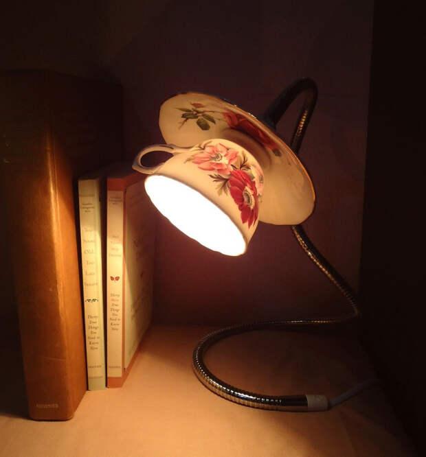 Картинки по запросу luminaria de xicara como fazer