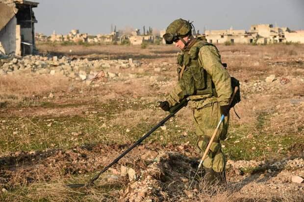 Миротворцы из РФ разминировали более 8500 снарядов в НКР