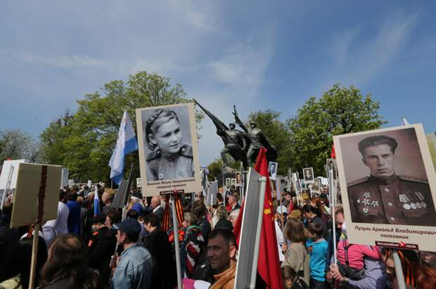 В Пекине в акции «Бессмертный полк» приняли участие около 350 человек