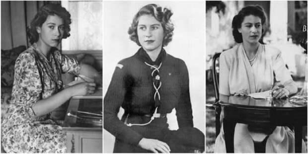 20 черно-белых портретов молодой Елизаветы II в 1940‑е годы