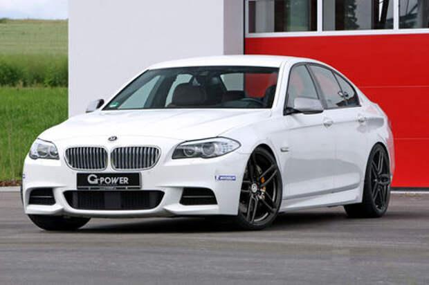 M5, подвинься: дизельному снаряду BMW M550d xDrive вправили «мозги»