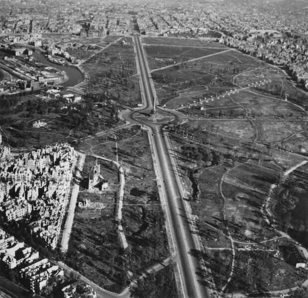 1932 Послевоенный Берлин с высоты птичьего полета