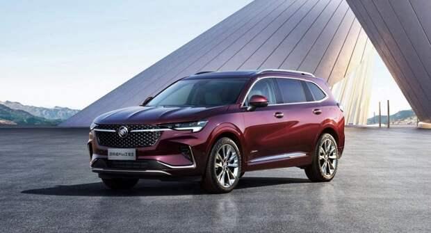 Концерн General Motors представил семиместный Buick Envision Plus в КНР