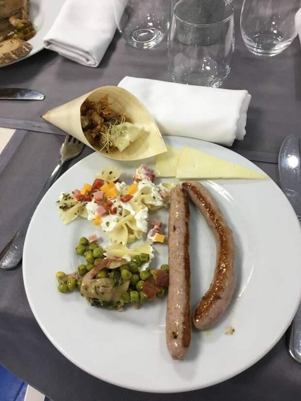 Обед в стиле Столетней войны…