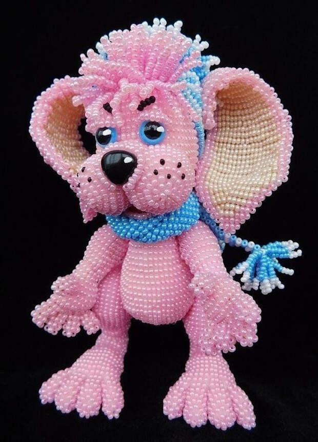 Замечательные игрушки из бисера. Так классно!!! Браво мастеру который это сотворил!!!
