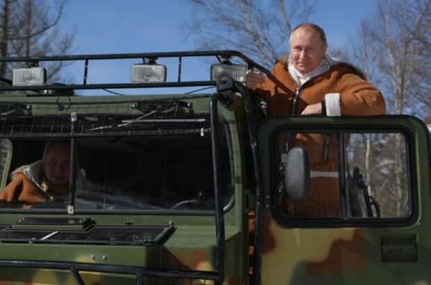 Что за вездеход, на котором Путин и Шойгу катались по тайге?