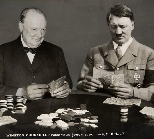 Гитлер учился у Британии