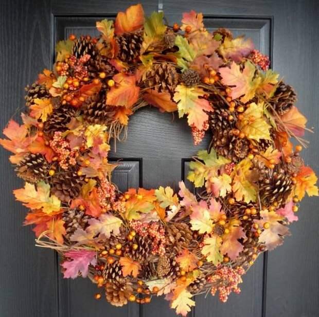 Осенний декор для дома своими руками