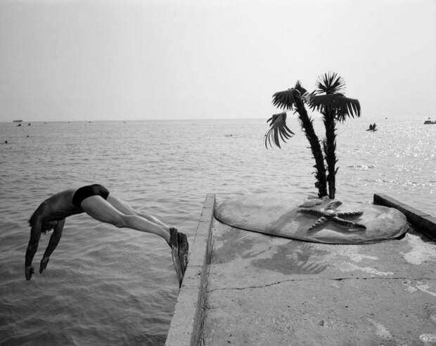 Сочи— российская ривьера 1988 года вфотографиях Карла деКейзера