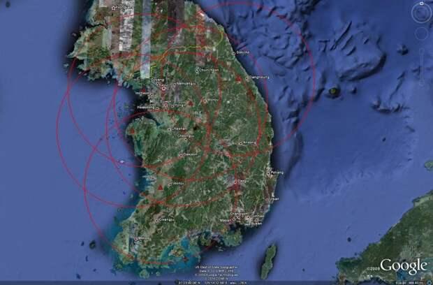 ПВО Республики Корея. Радиолокационные средства контроля воздушного пространства и ракетные комплексы объектовой ПВО и ПРО - 1 часть