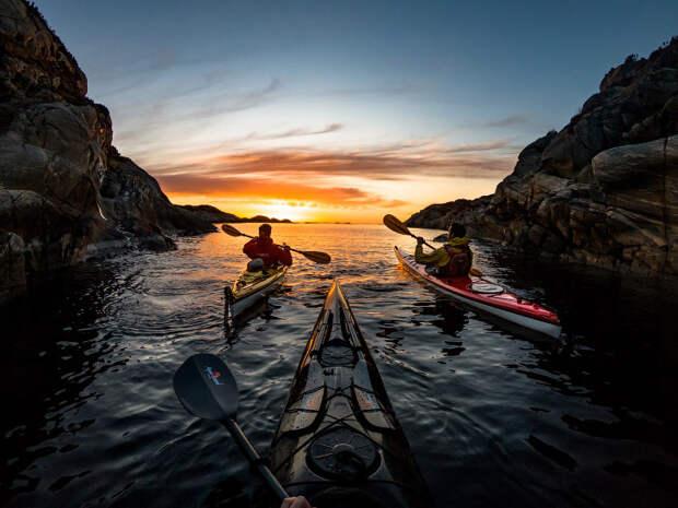 Путешествие по Норвегии на каяке