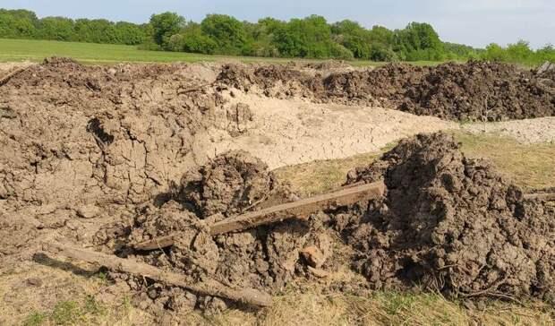 Жители поселка в Уфе возмущены мусором, сваленным при строительстве Восточного выезда