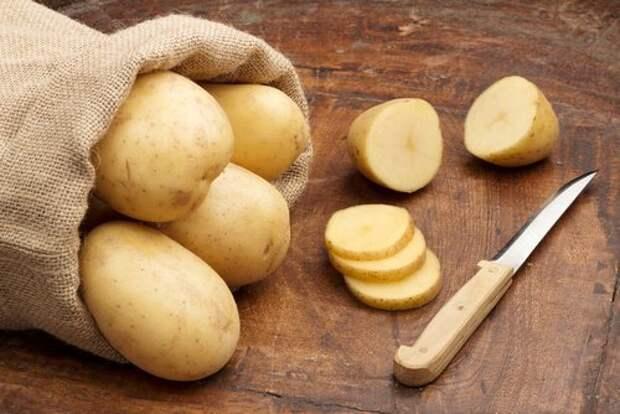 Картофель и растяжки
