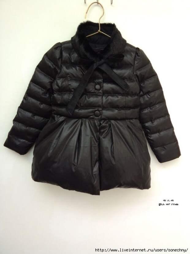 Выкройки детских курток и пальто (много)