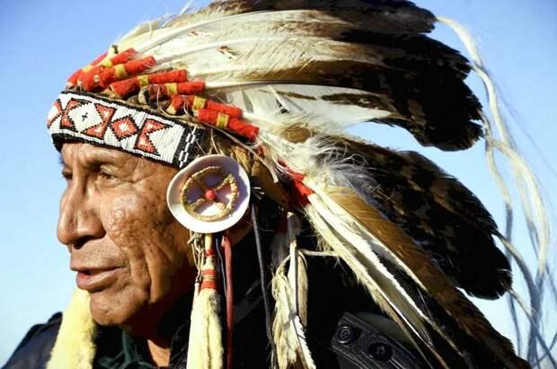 Индеец из племени Навахо. Фото взято из открытых источников