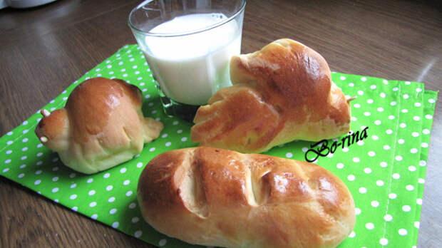 Жаворонки и молочные булочки