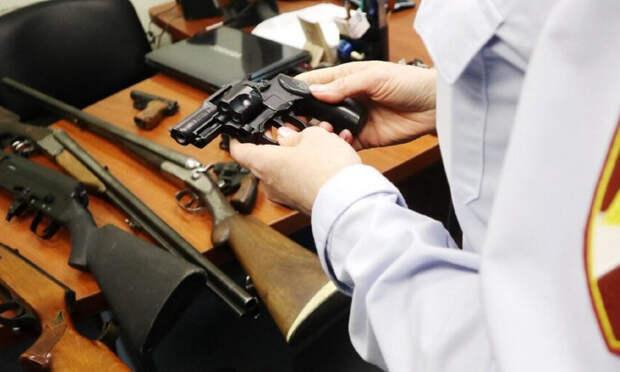 24 единицы оружия изъяли у жителей Архангельской области за неделю