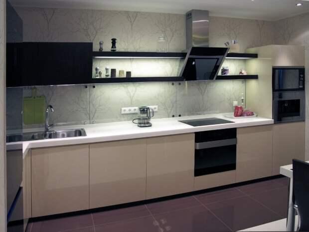 Угловой кухонный гарнитур: особенности расположения и секреты дизайна (82 фото)