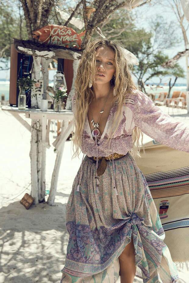 Лето в стиле бохо: оригинальные и женственные образы