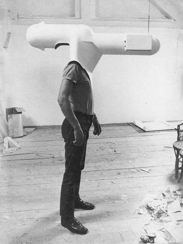 Концепт переносного телевизора. 1967 год.