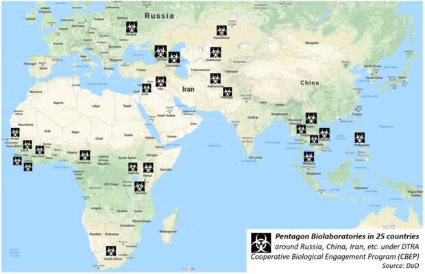 Биобактериологическая деятельность Пентагона – угроза миру и безопасности в Евразии