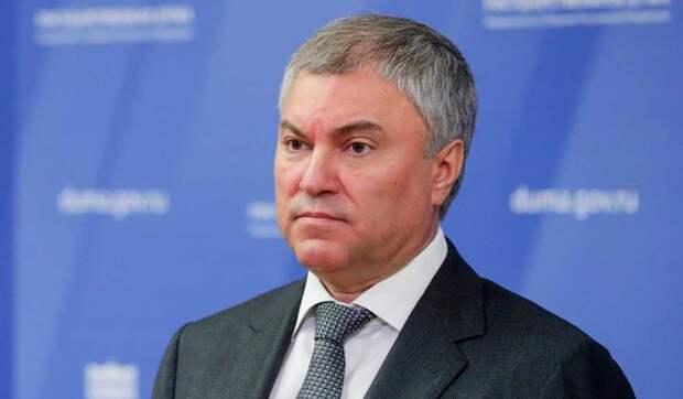 Володин: Находиться в Грузии россиянам небезопасно