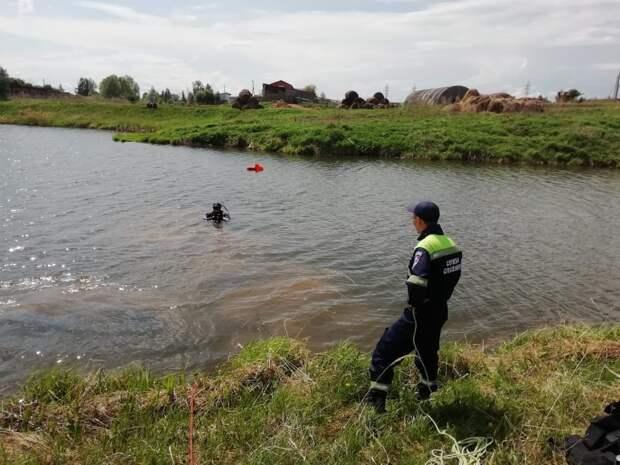 В Сарапульском районе в пруду утонул человек