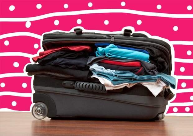 Как сложить вещи в чемодан, чтобы все поместилось