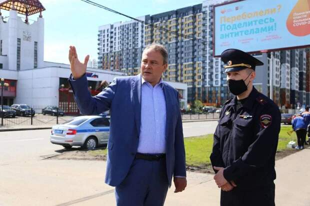 Пётр Толстой: Дорожная ситуация возле ОРТЦ «Москва» существенно улучшилась