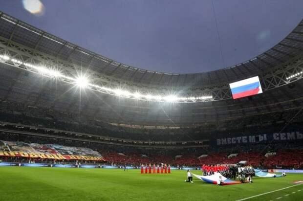 Сборная РФ по футболу проведёт отборочные игры ЧМ в Москве и Волгограде