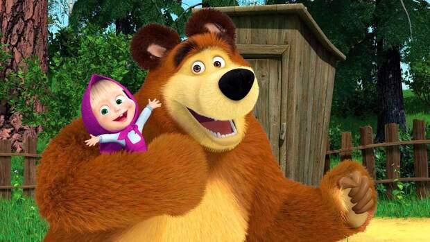 Полнометражный мультфильм «Маша и Медведь» расскажет о приключениях героев в городе
