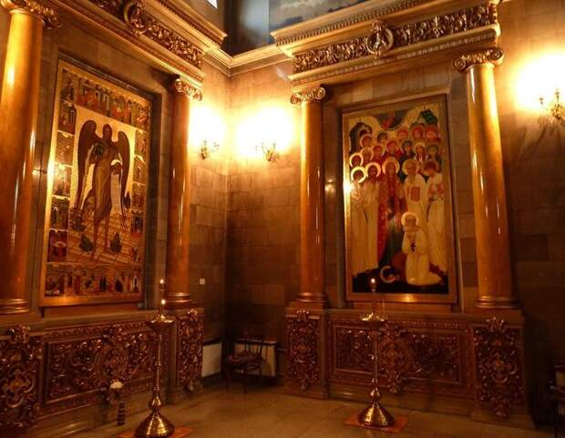 Интерьер собора Кирилла и Мефодия в Самаре