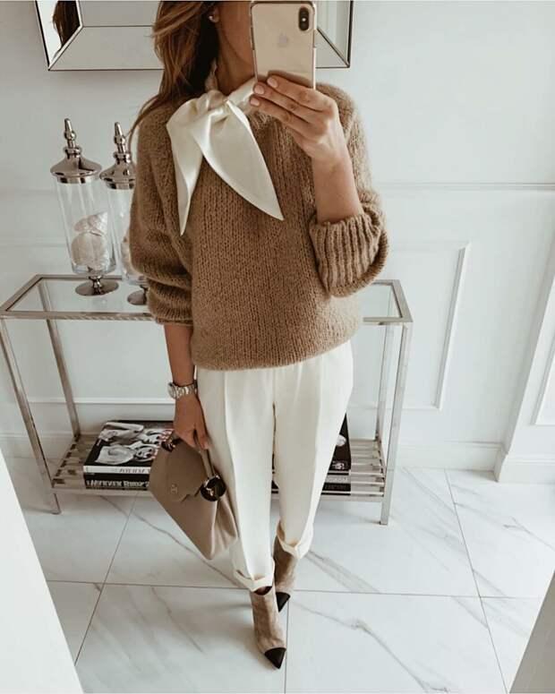 С чем носить брюки осенью: 10 способов выглядеть стильно, а чувствовать себя комфортно