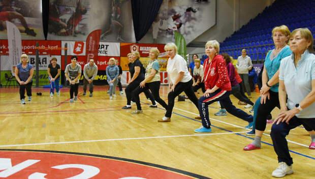 Более 250 человек старше 50 лет выполнили нормативы ГТО в Подольске