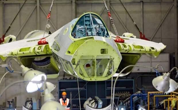 Су-57 столкнулся с проблемами при производстве