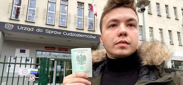 Задержание в Минске Романа Протасевича, одного из основателей телеграм-канала Нехта , курировавшего антиправительственные беспорядки...