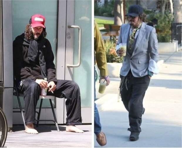 Знаменитости, которых на улице можно перепутать с бездомными