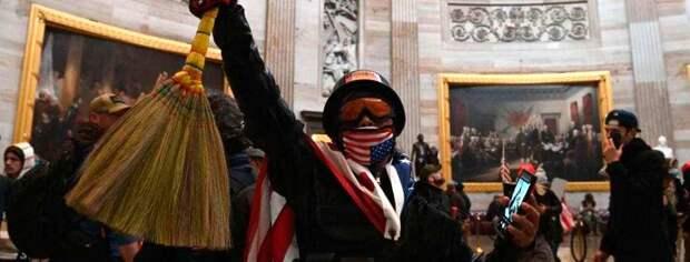 Майдан в США: Захвачен Капитолий. Не пора ли брать Аляску?