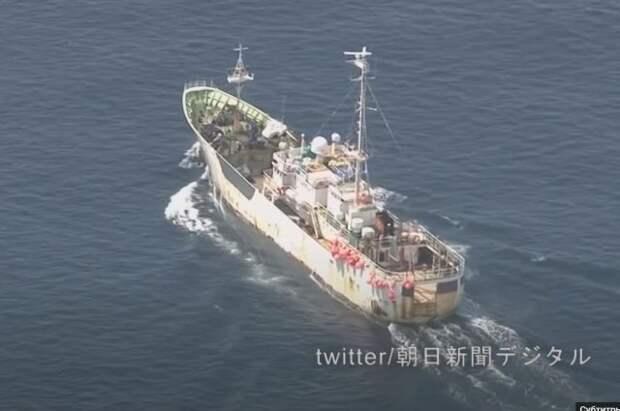 Капитана японской шхуны подозревают в халатности из-за аварии с «Амуром»