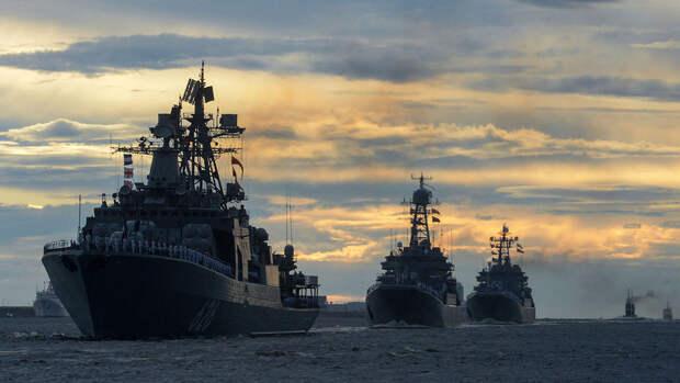 Тихоокеанский флот достигли места проведения учений