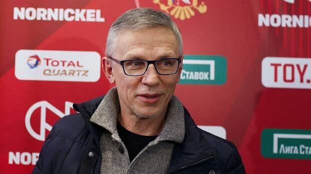 Ларионов: «Мы показали, что у этой команды большой характер и резерв»