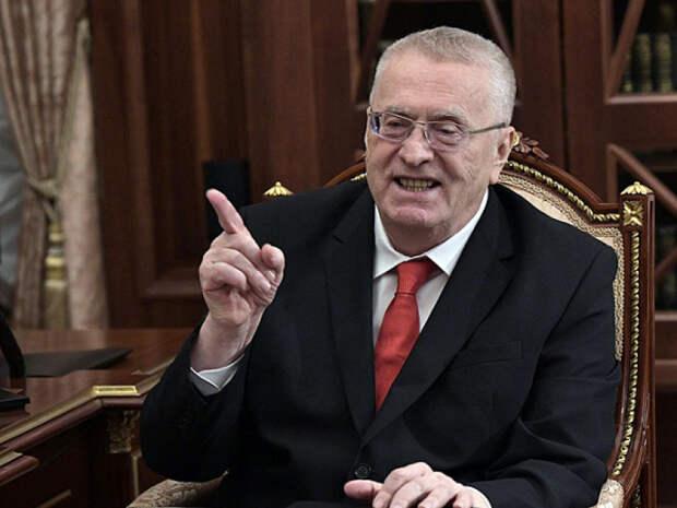 Жириновский предложил провести в Белоруссии парад «дружбы и любви»