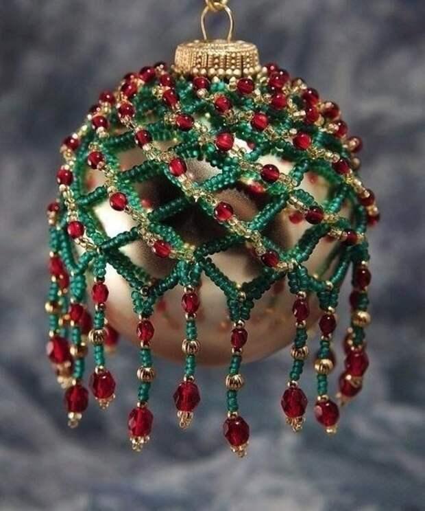 Реставрация старых ёлочных шаров
