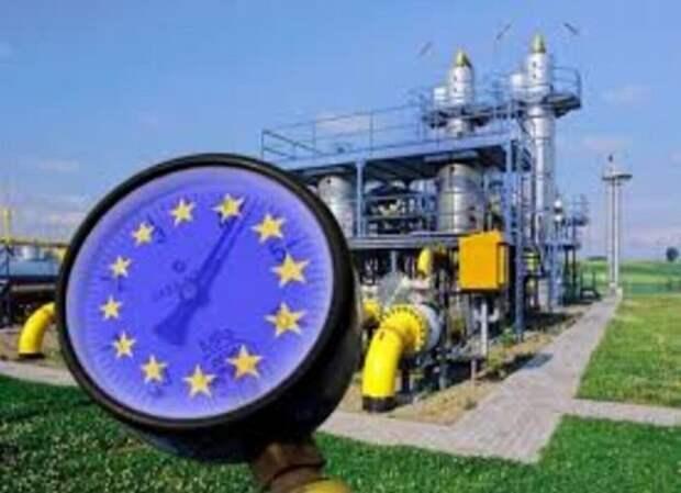 Стоимость газа в Европе достигла максимума за 3 года