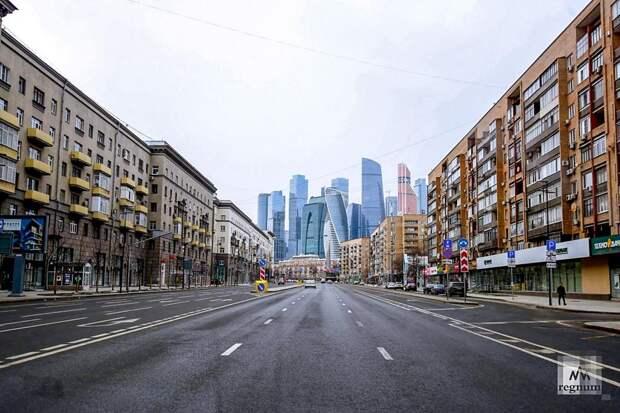 В Москве объявлен краткосрочный локдаун с 28 октября по 7 ноября