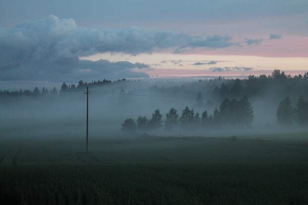Туман ожидается в Удмуртии в ночь на понедельник